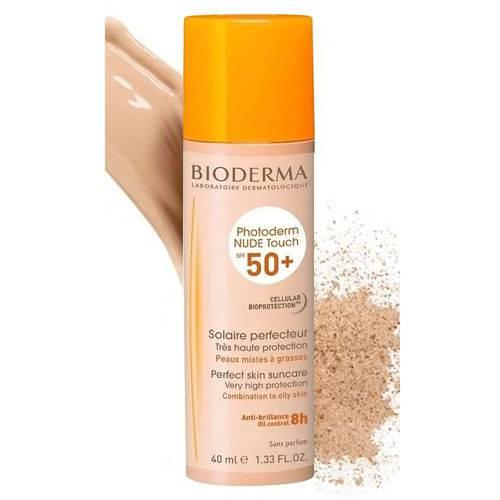 Photoderm Nude Touch Cor Dourado Bioderma Fps 50+ 40ml