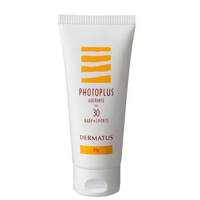 Photoplus Aderente FPS30 Baby + Sports Dermatus - Protetor Solar 55g