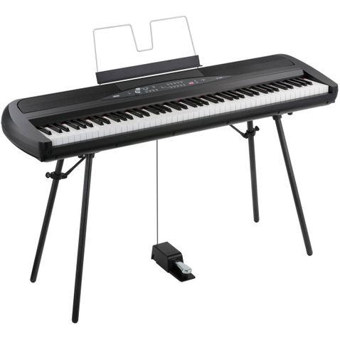 Piano Digital Korg Sp 280 Bk- Preto