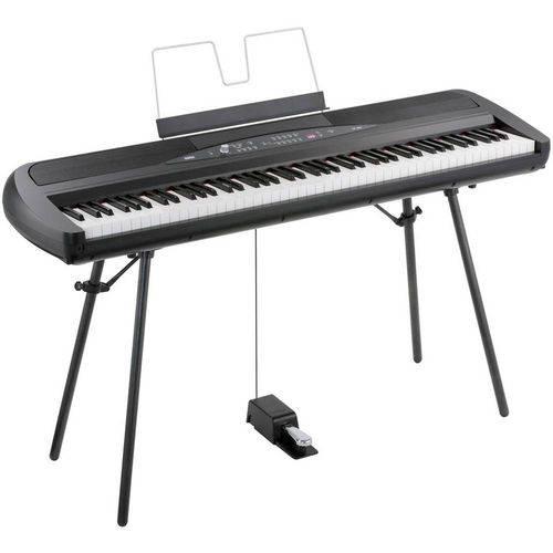 Piano Digital Korg Sp 280 Bk