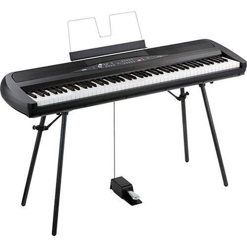 Piano Digital Korg Sp 280 - Preta