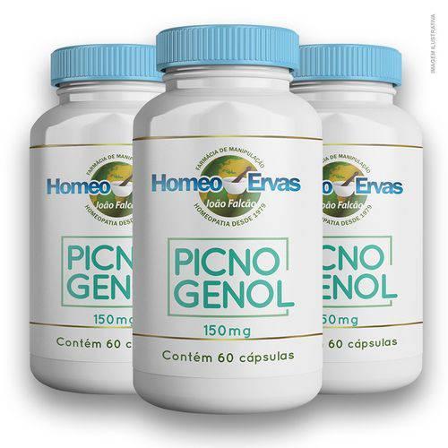 Picnogenol 150mg 60 Cápsulas 3 Unidades
