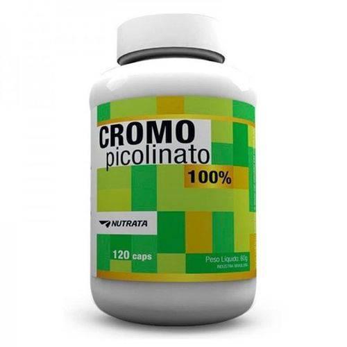 Picolinato de Cromo 120 Caps - Nutrata