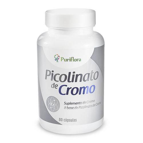 Picolinato de Cromo 250mg - 80 Cápsulas