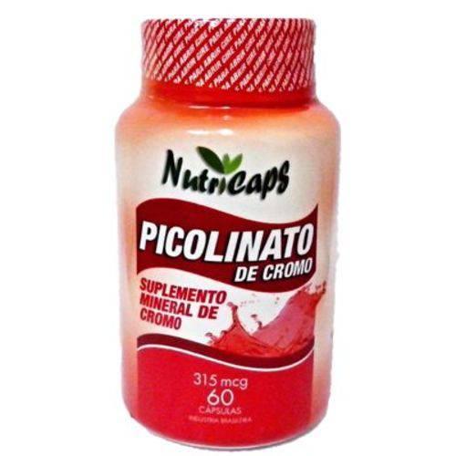 Picolinato de Cromo - 60 Cápsulas.