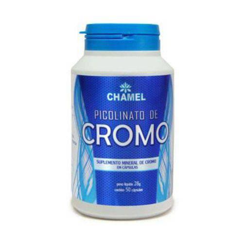 Picolinato de Cromo com 50 Cápsulas