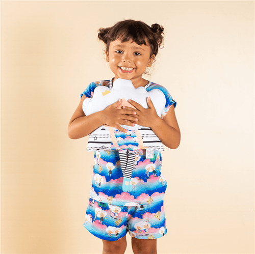 Pijama Avulso Rosa e Azul/g