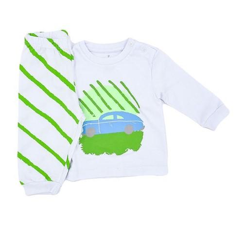 Pijama Baby Carrinho 0 a 3 M