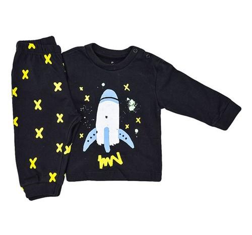 Pijama Baby Foguete 0 a 3 M