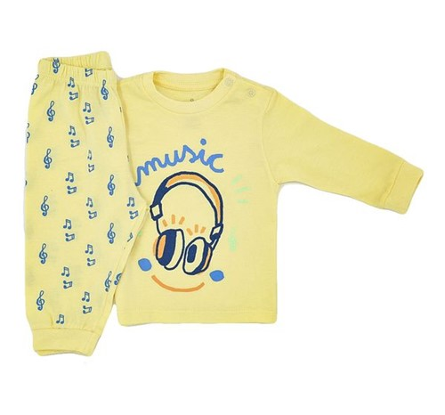 Pijama Baby Music 0 a 3 M