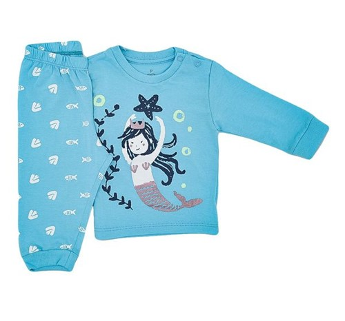 Pijama Baby Sereia 0 a 3 M