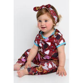 Pijama Bebê Body e Calça - Halloween 3-6m