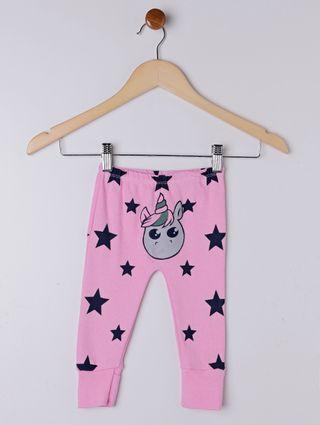 Pijama Ceroulinha para Bebê - Rosa