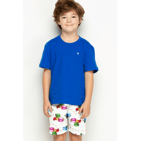 Pijama Curto Mini - Macarons 4