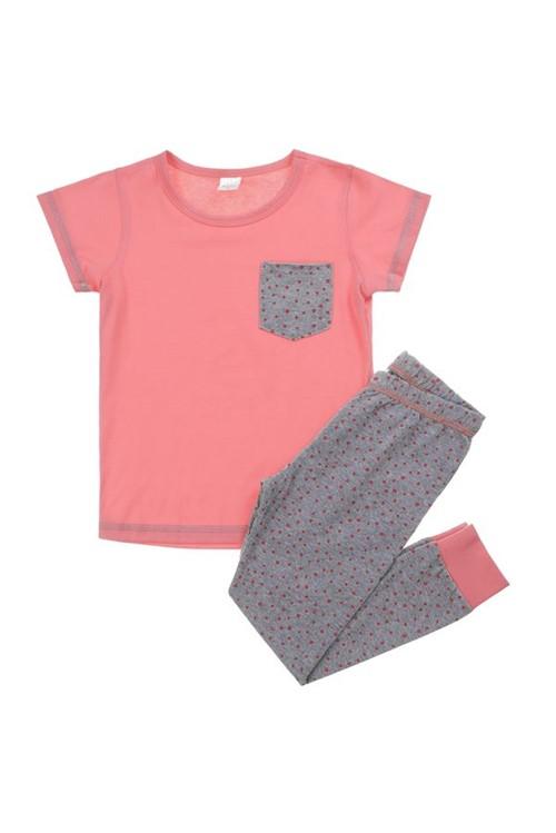 Pijama Infantil Bailarina 02 - Rosa Flamingo