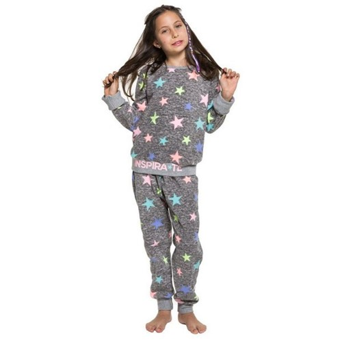Pijama Infantil Soft de Inverno Stars 8