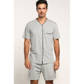 Pijama Masc Curto Aberto-mescla 65000 - 756 P