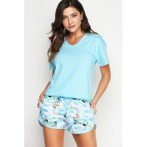 Pijama Mc C/ Short Boxeador - Rainbow M