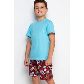 Pijama Mini Decote U - Halloween 1