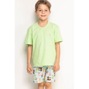 Pijama Mini Decote V - Sorvete e Cachorros 2