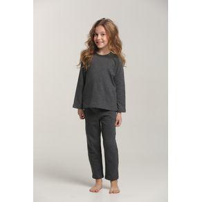 Pijama Mini Longo Ragla com Plume-rock - 1299 2