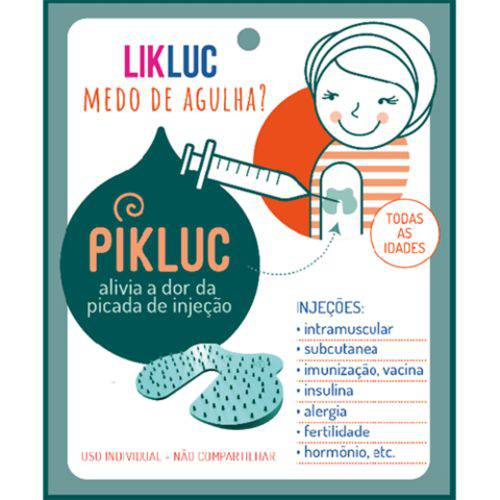 PIKLUC - Aparelho para Alívio da Dor da Injeção - LIKLUC