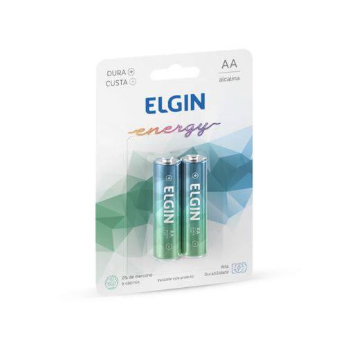 Pilha Aa Alcalina Blister com 2 Pilhas Elgin 82152