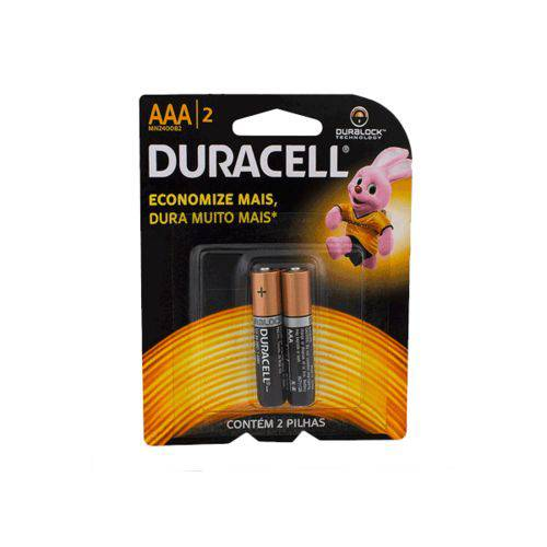 Pilha Aaa Palito Duracell