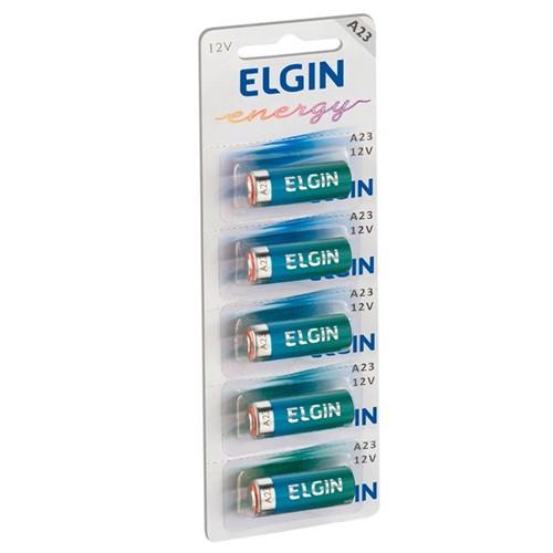 Pilha Alcalina 12V A23/MN21/V23GA/LRV08 com 5 Unidades 82195 - Elgin