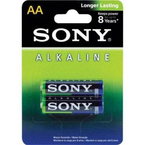 Pilha Alcalina Aa Sony AM3L-B2D - 1,5V