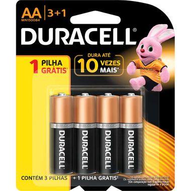 Pilha Alcalina Duracell AA L4-P3