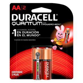 Pilha Alcalina Quantum AA C/2 Duracell