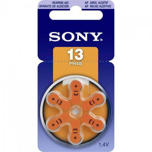 Pilha Auditiva 131,4V PR13 D6A Sony