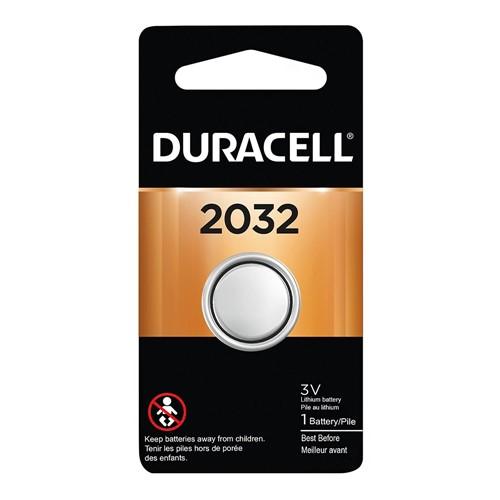 Pilha Botão Lithium Duracell CR 2032 3V 1 Unidade