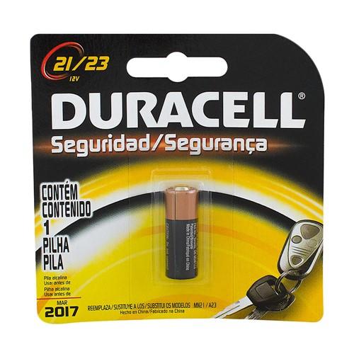 Pilha Duracell 21/23 Alcalina 12V com 1 Unidade