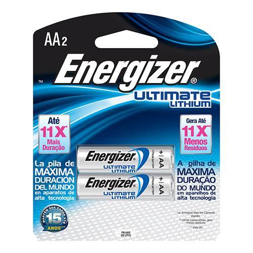 Pilha Energizer Ultimate Lithium AA - Energizer