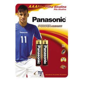 Pilha Palito Alcalina AAA 2 Unidades LR03XAB/2B Panasonic