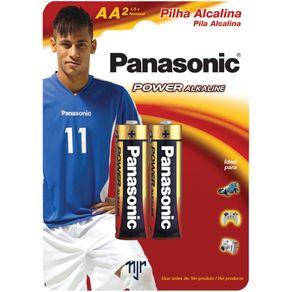 Pilha Peq. Alcalina AA 2 Unidades LR6XAB/2B Panasonic
