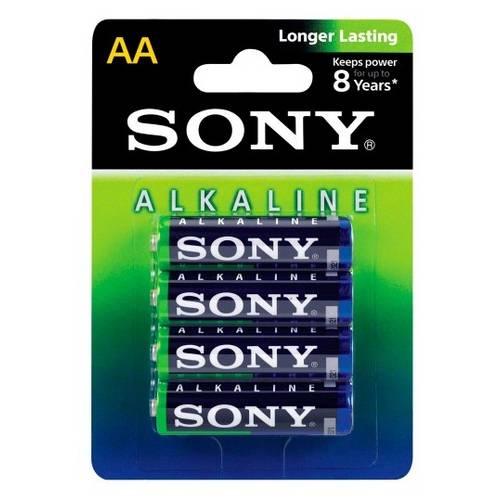 Pilha Sony Alcalina Aa C/4