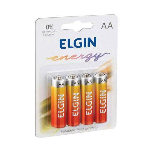 Pilhas de Zinco Pequena Aa 10blistersx4unidade Elgin