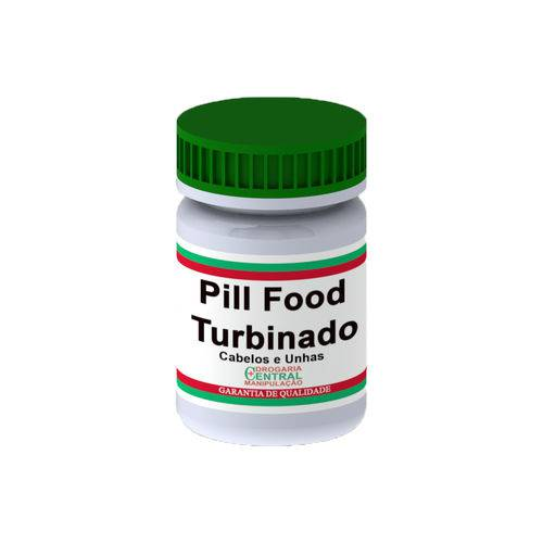 Pill Food Turbinado 120 Cápsulas