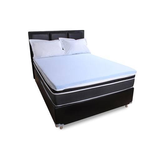 Pillow Top Solteiro de Espuma 6cm Viscoelástico Gel da Nasa
