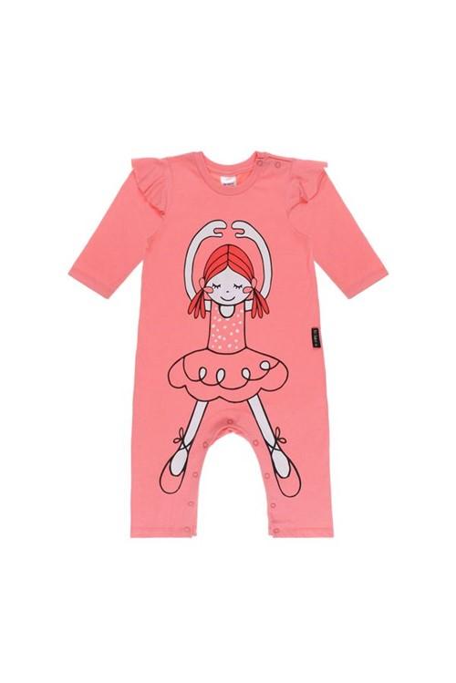 Pimpão Bebe Bailarina M - Rosa Flamingo
