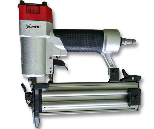 Pinador Pneumático para Pinos de 10mm a 50mm Capacidade 100 Pinos Couro Tecido Madeira Gesso Mdf Co