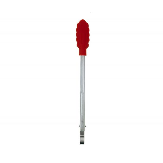 Pinca com Trava Silicone 30,5 Cm Vermelho