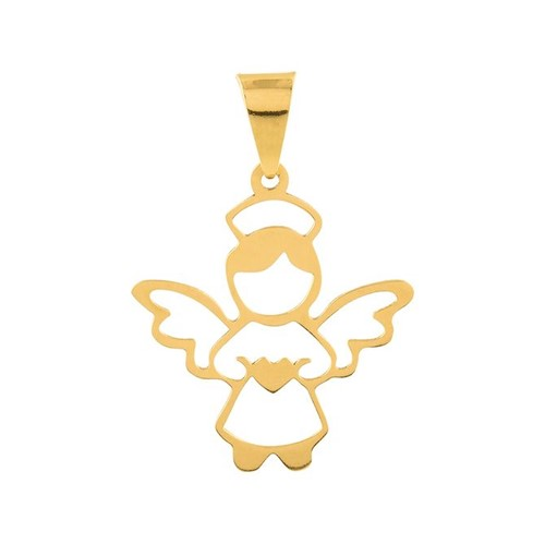 Pingente Anjo Ouro 18k 750