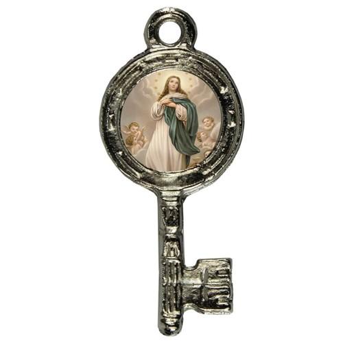 Pingente Chavinha Nossa Senhora da Imaculada Conceição | SJO Artigos Religiosos