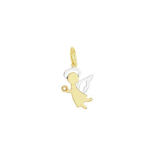 Pingente em Ouro 18K Anjo - AU2965
