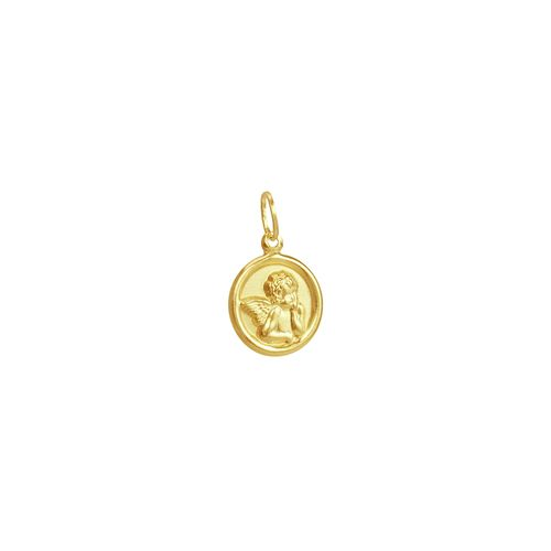 Pingente em Ouro 18k Anjo da Guarda - AU3625