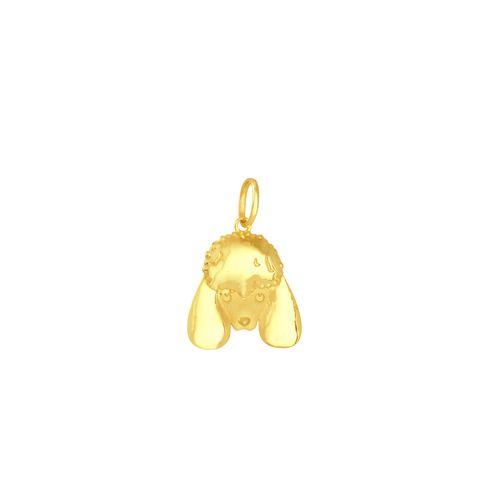 Pingente em Ouro 18K Cachorro Poodle - AU5408